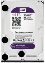 Жесткий диск (HDD), стандарт SATA-III, объем 1000 GB (1 TB) для видеонаблюдения Western Digital HDD 1000 GB (1 TB) SATA-III Purple (WD10PURX)
