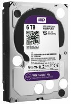 Жесткий диск (HDD), стандарт SATA-III, объем 6000 GB (6 TB) для видеонаблюдения Western Digital HDD 6000 GB (6 TB) SATA-III Purple NV WD6NPURX